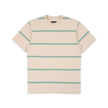 Brixton Hilt S/S Knit Safari/Fern