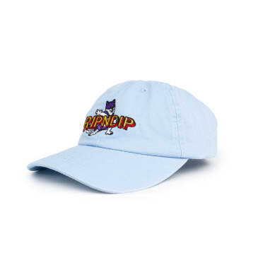 Rip N Dip Captain Nermal Pants Dad Cap - Light Blue