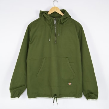 Dickies - Kevil Quarterzip Hooded Jacket - Army Green
