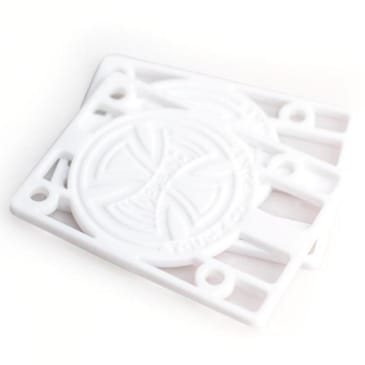 "Independent Risers 1/8"" (White)"