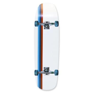 "Skateboard Cafe Stripe Custom Cruiser Complete (With Venture Trucks & Orbs Pugs) 9"""
