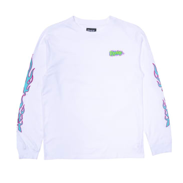 Ripndip - Flaming Hot Longsleeve (White)