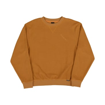 Quasi Terry Crew Sweat - Gold