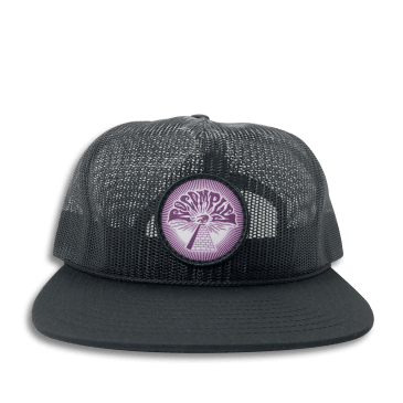 No-Comply 13th Full Mesh Hat Black