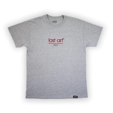 Lost Art - Embroidered Late Registration Tee Sport Grey