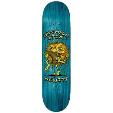 "Antihero Skateboards - Hewitt Grimple Stix Family Band Deck 8.25"" Wide"