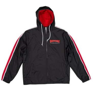 Thrasher Godzilla Track Jacket - Black