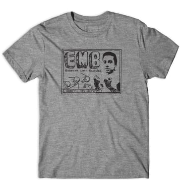 Girl Skateboards EMB T-Shirt. - Grey