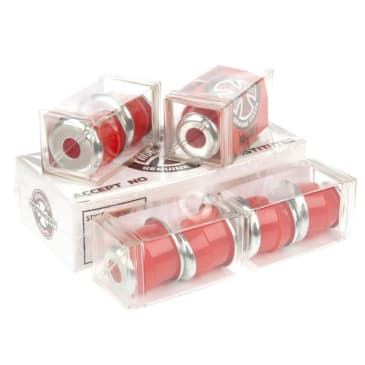 Independent 'Standard Cylinder' 88A Soft Bushings (Red)