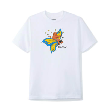 Butter Goods Butterfly Tee (White)