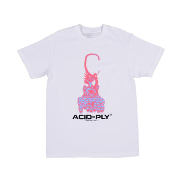 Quasi Acid Ply T-Shirt - White