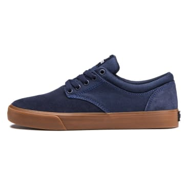 Supra Chino Shoes - Navy/Gum