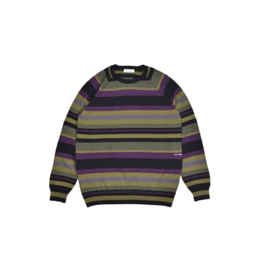 Striped Knitted Crewneck Multicolour