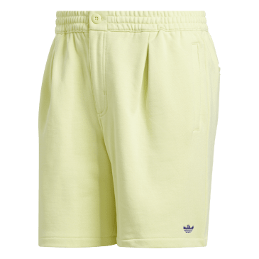 adidas Shmoo Terry Shorts - Yellow Tint / Purple