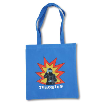 Theories of Atlantis - Kaboom Tote Bag - Blue