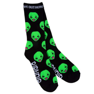 Rip N Dip - We Out Here Socks - Black
