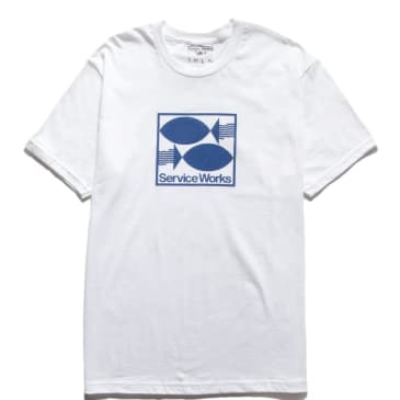 Service Works Turbot T-Shirt - White