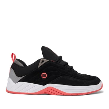 DC Williams Slim Skate Shoes - Black / Hot Pink