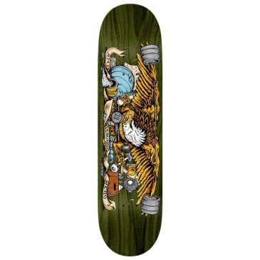 "Anti Hero Skateboards - 8.5"" Pumping Feathers Deck"