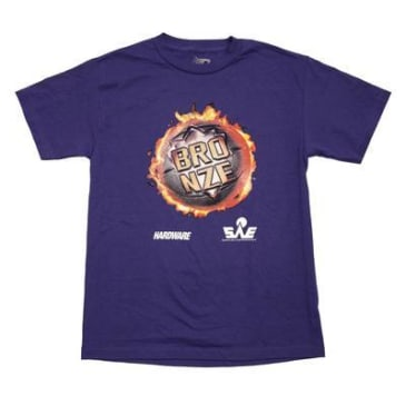 BRONZE JAM TEE - PURPLE