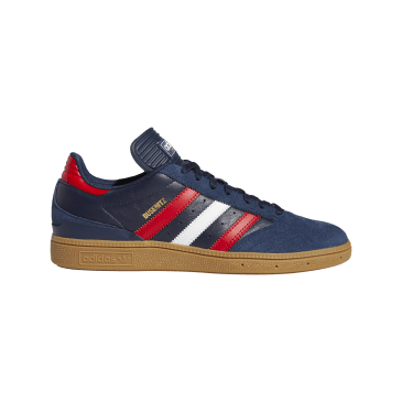 adidas Busenitz Skate Shoes - Collegiate Navy / Scarlett / Cloud White