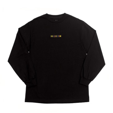 WKND Patchy Long Sleeve T-Shirt - Black