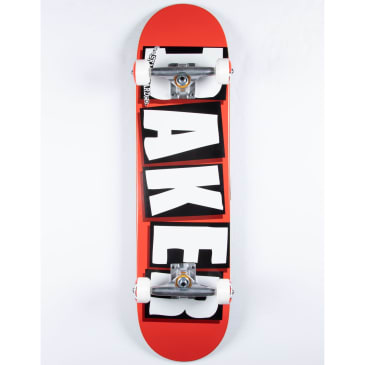 A - Baker Brand Logo Complete 7.75-8.0 (Red)
