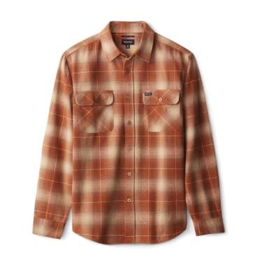 Bowery L/S Flannel   Copper
