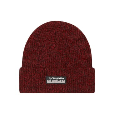 HUF Boroughs Beanie - Poppy