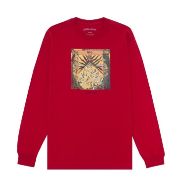 Fucking Awesome Time Long Sleeve T-Shirt - Red