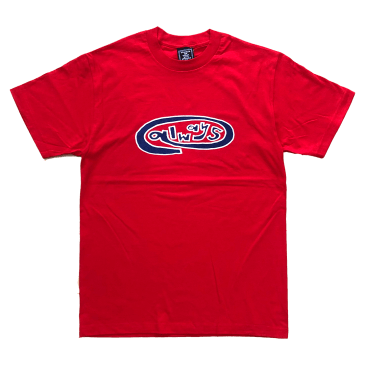 always do what you should do - always oval red t-shirt