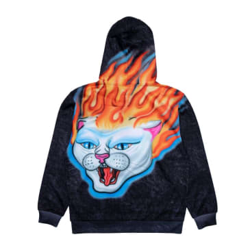 Rip N Dip Hell Ride Hoodie - Black Mineral Wash