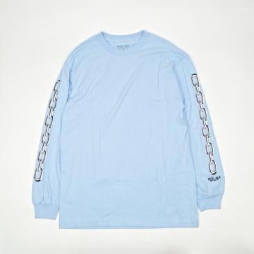 Hotel Blue Chains Long Sleeve T-Shirt - Slate
