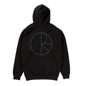 Polar Skate Co. Half Zip Pullover Hoodie - Black