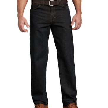 Dickies Relaxed Fit 5 Pocket Carpenter Jean Stonewashed Broken Tint Brown