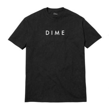 Dime Basic Logo T-Shirt - Black