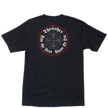 Thrasher x Independent Oath T-Shirt - Black