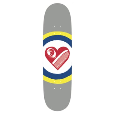 """Free Dome Skateboards - FREE DOME - Sk8 Heart Deck - 8.25"""""""