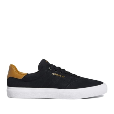 adidas Skateboarding 3MC Vulc Shoes - Core Black / Mesa / Cloud White