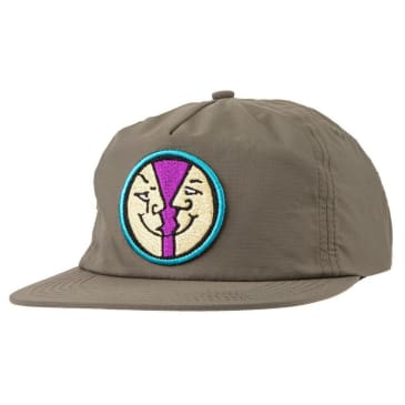 Krooked Skateboards - Moonsmile Snapback Cap - Dark Army