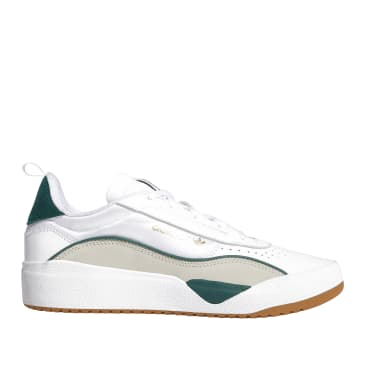 adidas Skateboarding Liberty Cup Shoes - FTWR White / Collegiate Green / Clear Brown