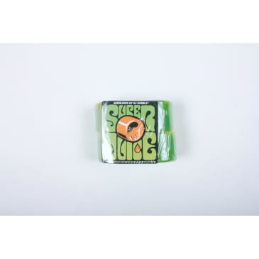 OJ Wheels Super Juice 60mm 78a Green/Yellow Swirl