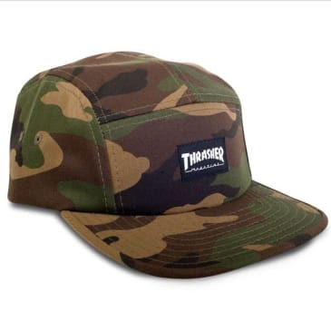 Thrasher Magazine 5-Panel Cap Camo