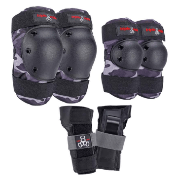 Triple Eight Protective Wear - Triple 8 Saver 3 Piece Pad Set SM