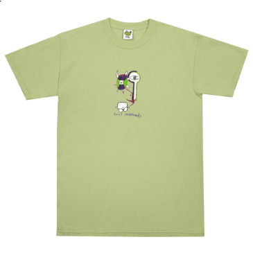 Frog Skateboards Tree Spirit T-Shirt - Soft Green