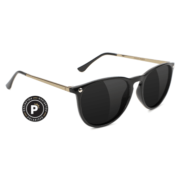 Glassy Mikey 2 Black/Gold Polarized