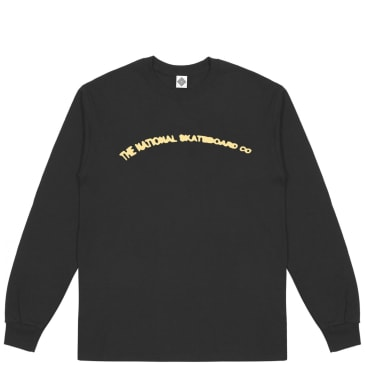 The National Skateboard Co There Is Life Long Sleeve T-Shirt - Black