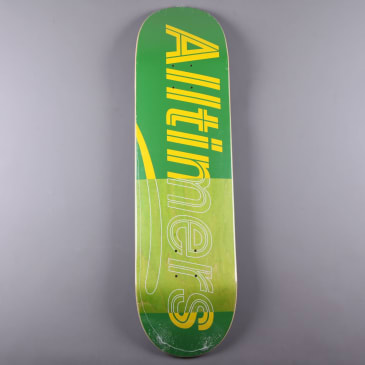 "Alltimers 'Trace Logo' 8.5"" Deck (Green)"