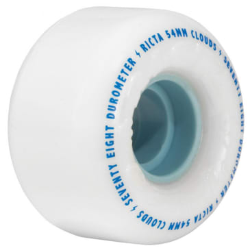 "Ricta ""Clouds"" Wheels 78A White/Blue 54mm"