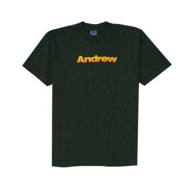 Andrew Tri Colour Logo T-Shirt - Ivy
